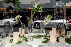 Gala cocktails party large candles