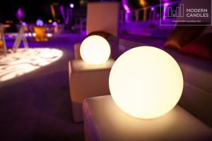 Glow spheres event rental miami